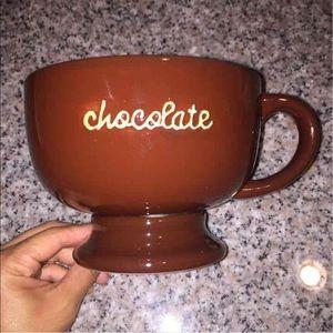 "Large Jumbo ""Chocolate"" Mug"